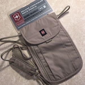 e704e5e300e9 Victorinox Bags - Victorinox Deluxe concealed neck pouch secure